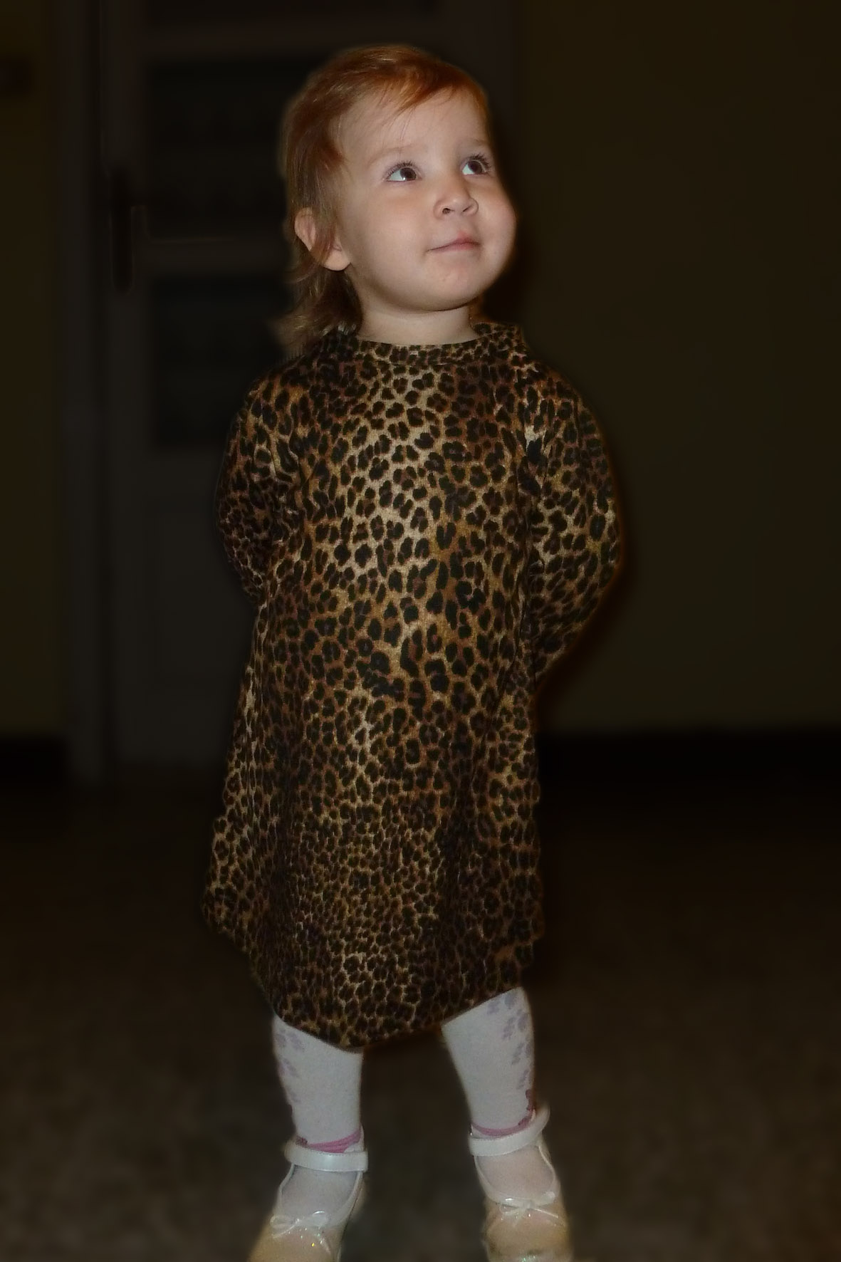 Amur Leopard Baby – Silk Lace and Steel